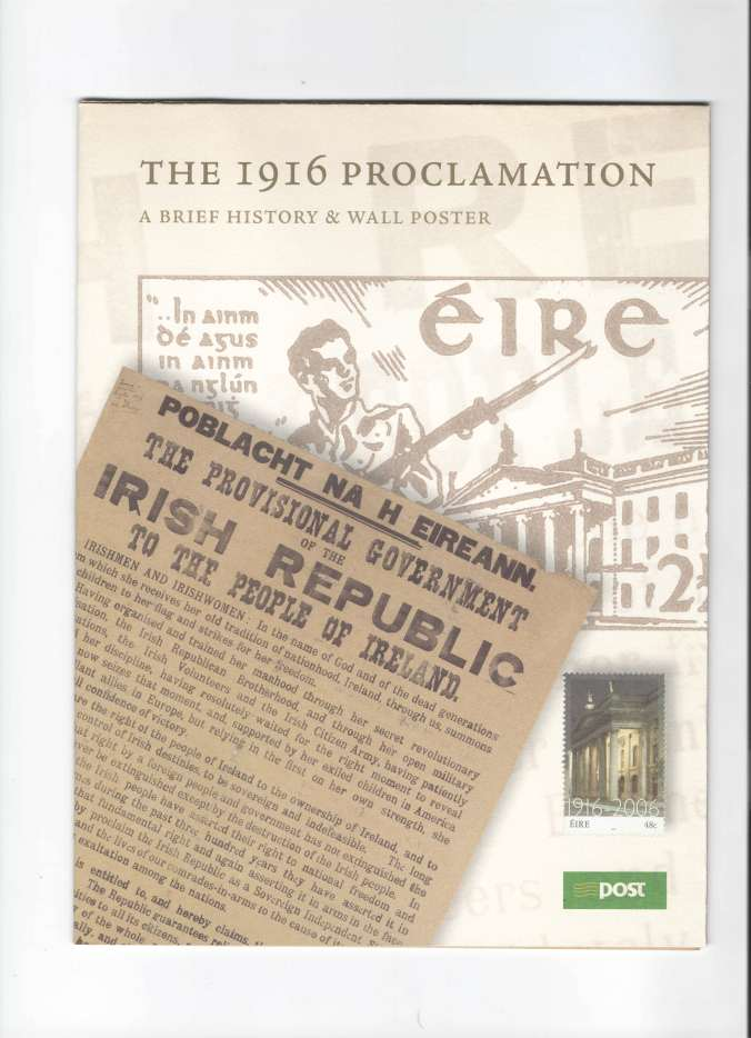 1916 Proclamation cover