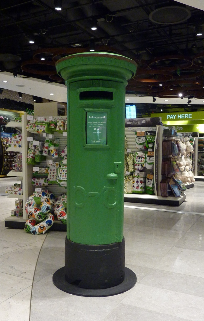 Airport pillar box