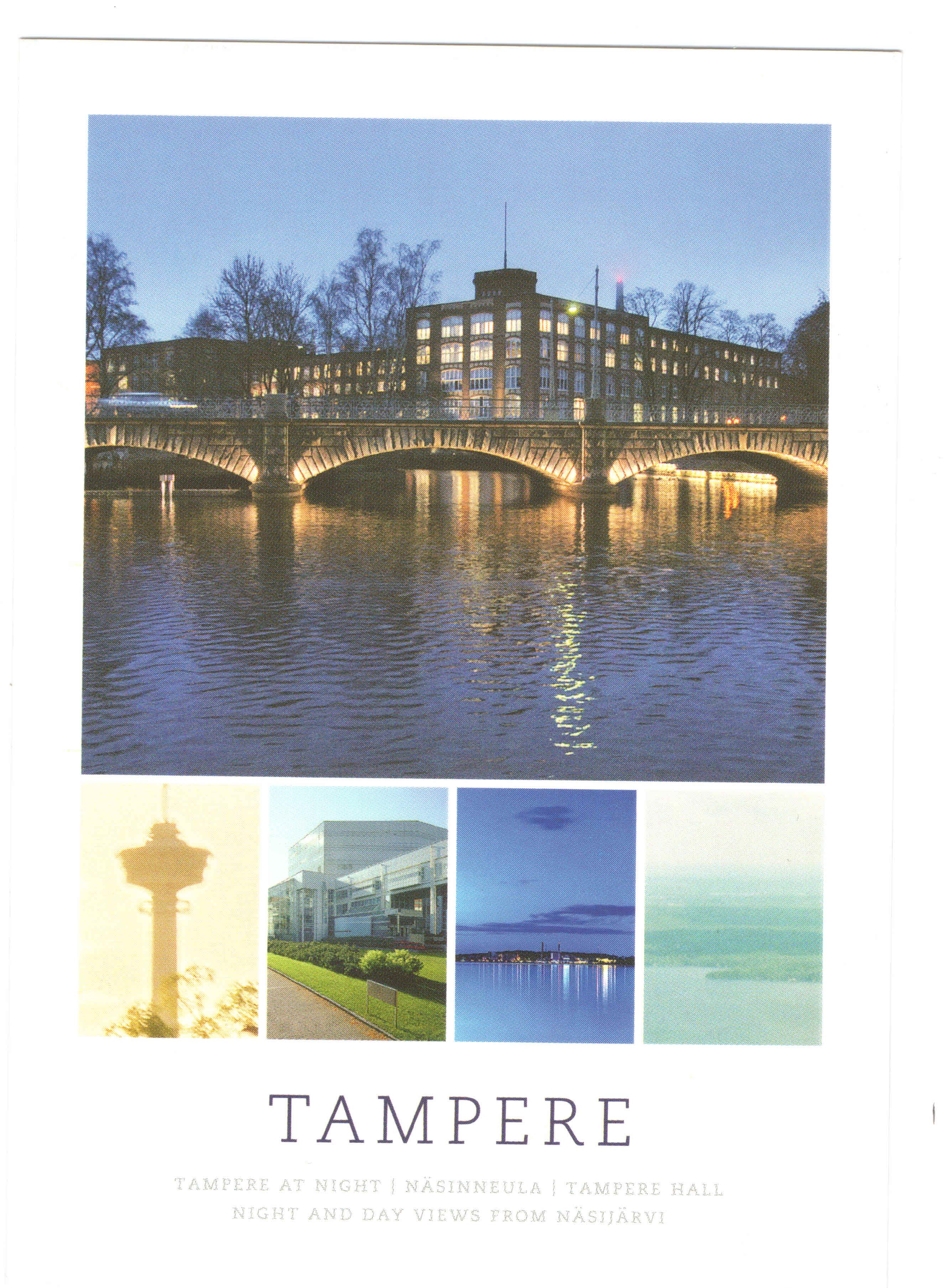 Tampere postcard
