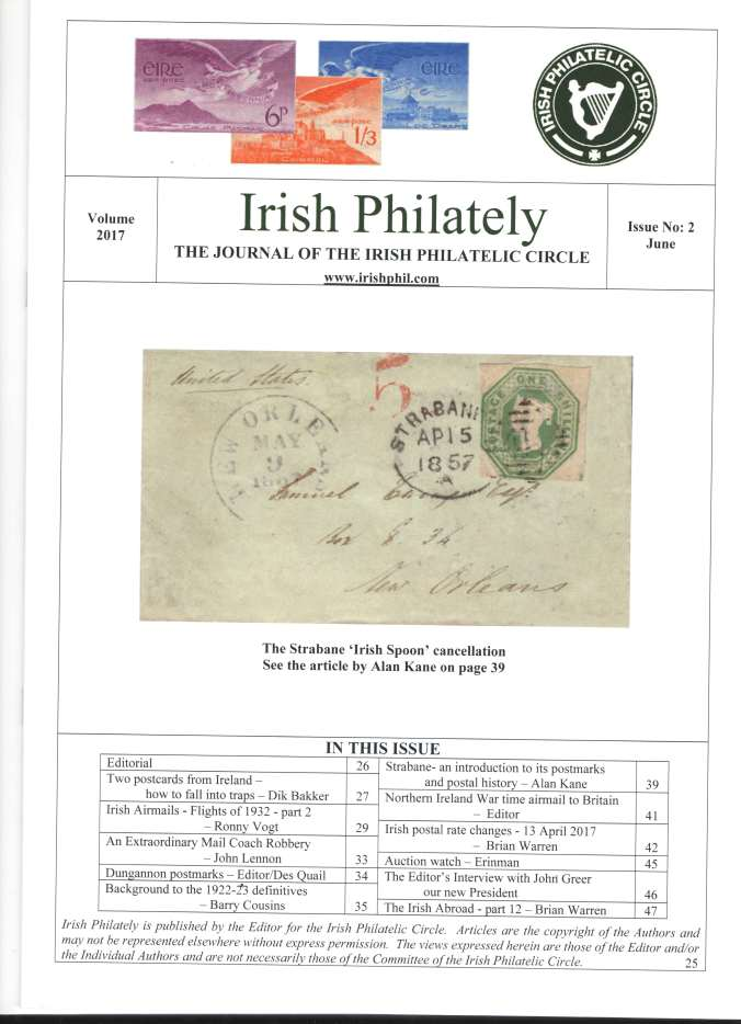 Irish Philately June 2017