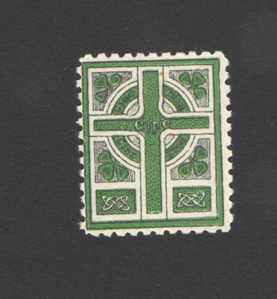 Sinn Fein celtic cross label