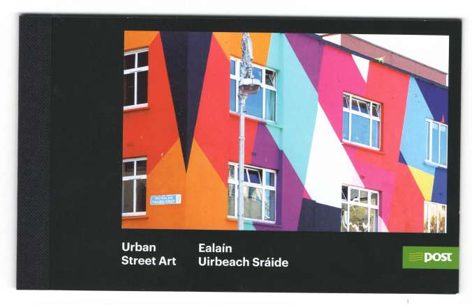 Urban street art booklet