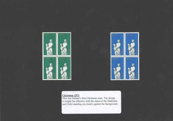 Christmas 1971 stamps
