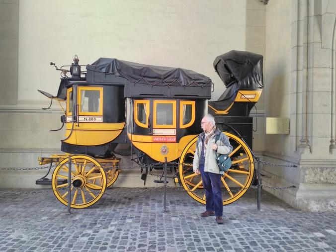 Post coach Zurich